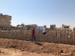 Baufortschritt in Qamislo1