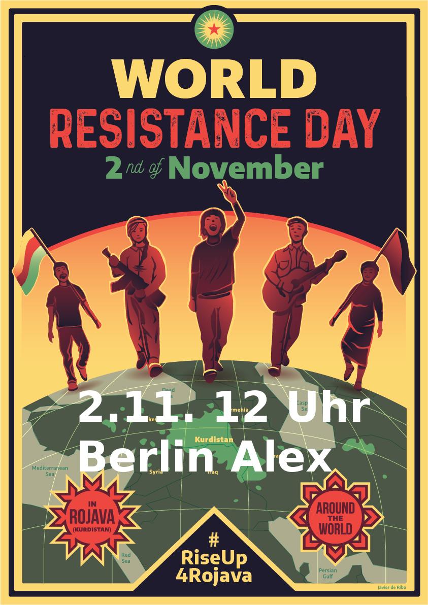 2.11. 12 Uhr Berlin Alex
